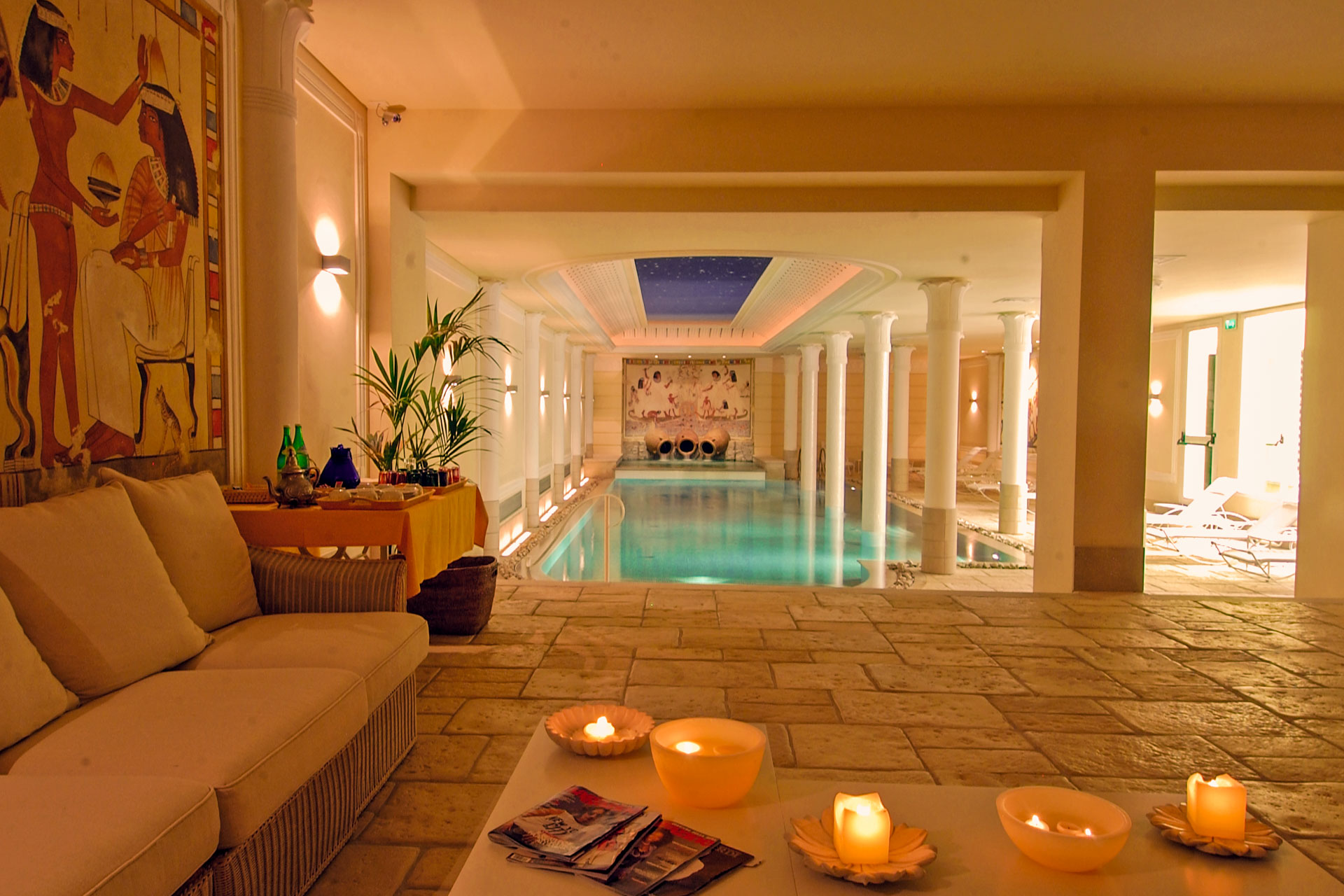 Relaxation area, Iside Spa